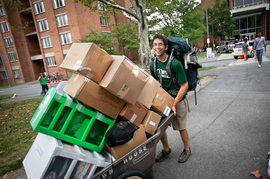 Kollégiumi beköltözés