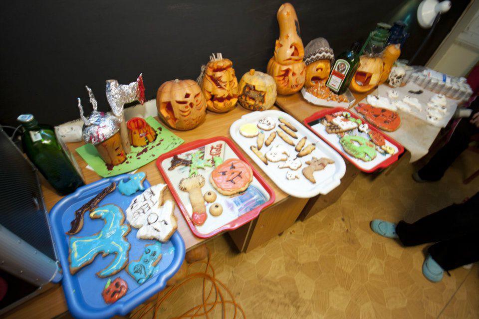 Halloween ételek