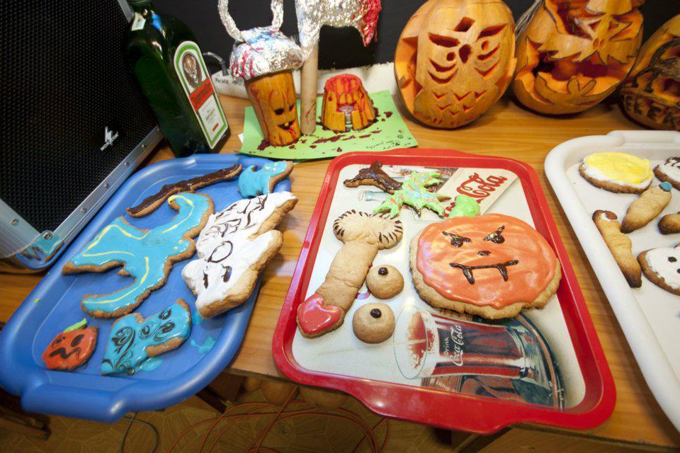Halloween sütik