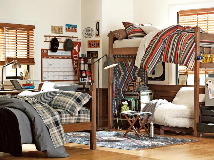 Otthonos kollégiumi szoba