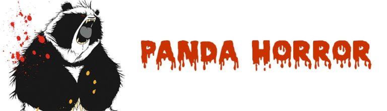 Panda horror halloween